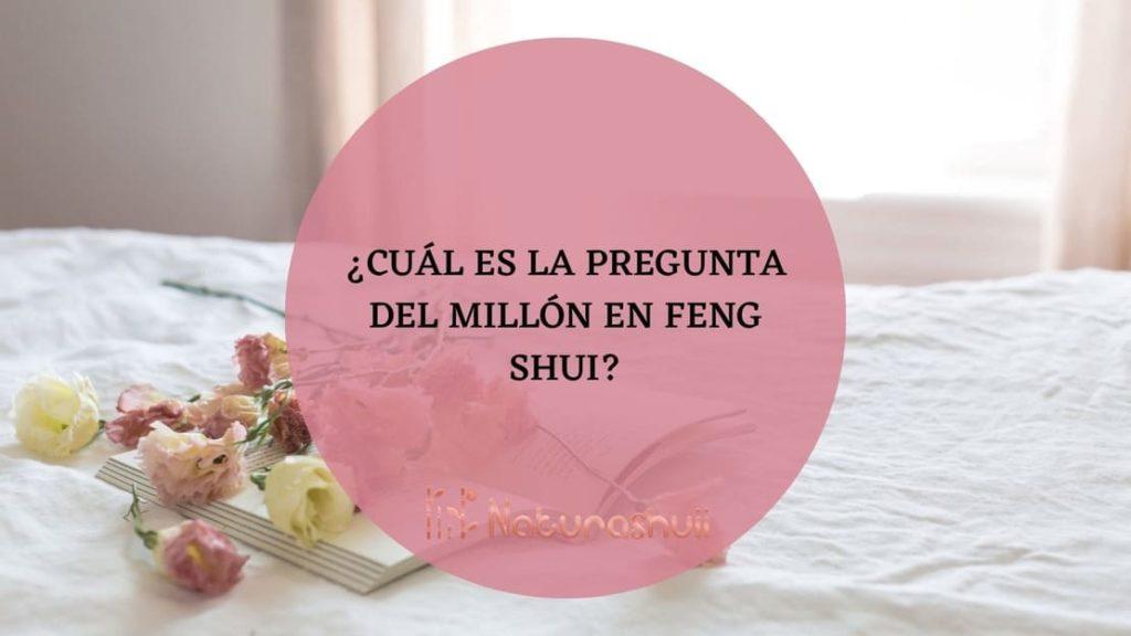 ¿Cuál es la pregunta del millón en feng shui?