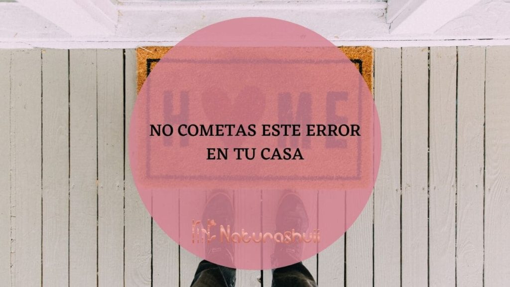 No cometas este error en tu casa copia